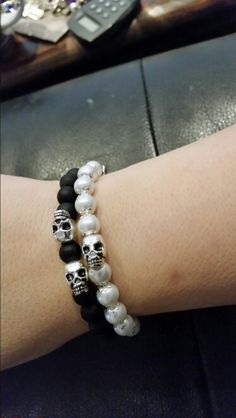 Made by me Beaded Bracelets, Jewelry, Fashion, Jewellery Making, Moda, Pearl Bracelets, Jewerly, Fasion, Jewlery