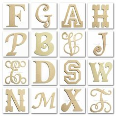 DIY Wood Letters by Sassy Chic  Boutique