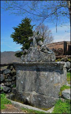 XOAN ARCO DA VELLA: LENDAS DAS AUGAS DO PIORNEDO Vella, Fountain, Garden Sculpture, Outdoor Decor, Folklore, Fairy Tales, Legends, Arch, Places To Visit