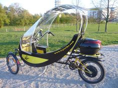 Thanks for all comments. Let me introduce the new improved version . Tricycle Bike, Adult Tricycle, Trike Bicycle, Electric Cargo Bike, Electric Cars, Three Wheel Bicycle, E Mobility, Futuristic Cars, Bike Style