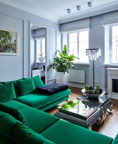 Lovely Home Decor Furniture Newness Modern Color Schemes, Blue Sofa, Living Room Green, Furniture, Farm House Colors, Living Room Pillows, Home Decor, Green Living Room Color Scheme, Home Decor Furniture