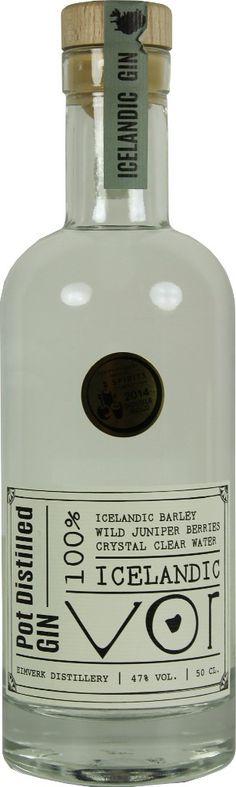 Gin von Eimverk Distillery in der 0,5l Flasche mit 47 % Vol. Alc.