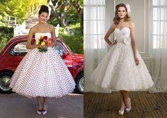 abiti da sposa anni 50 wedding dress