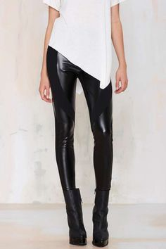 Nasty Gal Faux Real Leggings | Shop Clothes at Nasty Gal!