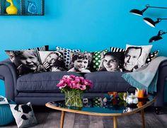 Make some photo pillows...