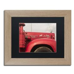 Trademark Global 'Mack Truck' by Jason Shaffer Framed Photographic Print