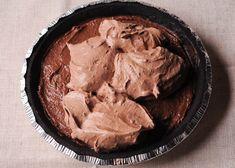 No Bake Double Chocolate Cream Pie with Oreo Crust No Bake Chocolate Desserts, Chocolate Pie With Pudding, Chocolate Pie Recipes, Chocolate Pies, Chocolate Shavings, Chocolate Cream, Delicious Chocolate, No Bake Desserts, Dessert Recipes