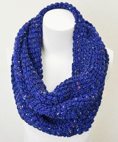 Take a look at this Royal Blue Confetti Infinity Scarf by Leto Collection on #zulily today!