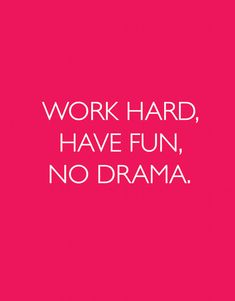 Inspirational Print Quote Work Hard Have Fun by TheMotivatedType