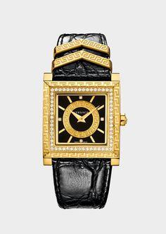 DV 25 Limited Edition Noir - Versace Femme | Boutique en Ligne France. DV 25 Limited Edition Noir de la Collection Versce Femme. La DV-25 a été créée pour célébrer le 25e anniversaire des montres Versace
