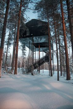 The Seventh Room Treehotel Snøhetta