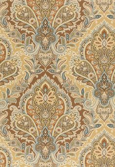Lush Raipur Paisley in Neutral from Schumacher