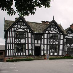 Part of the Old Hall Sandbach Old Buildings, Old Things, Cabin, House Styles, Image, Home Decor, Decoration Home, Room Decor, Cabins