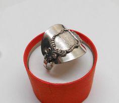 800er Silberring Silberbesteck Gr 22,7 mm  SR467 von Atelier Regina auf DaWanda.com