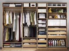 New wardrobe models from ikea – Bedroom storage Ikea Pax Closet, Ikea Pax Wardrobe, Wardrobe Storage, Bedroom Wardrobe, Wardrobe Closet, Bedroom Closet Design, Closet Designs, Home Bedroom, Wardrobe Internal Design