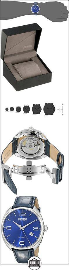 Fendi Fendimatic Men's 42mm Automatic Blue Leather Date Watch F200013031  ✿ Relojes para hombre - (Lujo) ✿