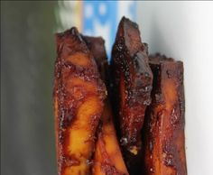 Super easy baked barbecue-flavored tofu. You won't believe how easy and how yummy recipe is.