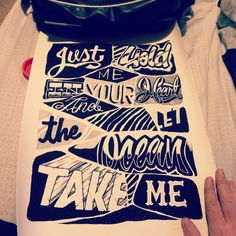 The Amity Affliction, Don't Lean On Me (Joel Birch Illustration)