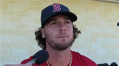 Jarrod Saltalamacchia said he is looking to building off last year's 25 home run performance and be more patient at the plate.