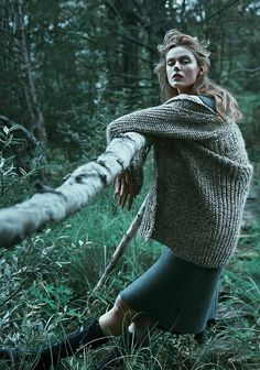 Frida Gustavsson byBoe Marion forScandinavia S/S/A/W #8 Spring 2014