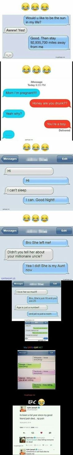 Hilarious Texts Collection From Around The World