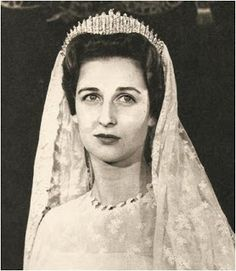 The Kent City of London Fringe Tiara: Marina's daughter Princess Alexandra carried on the family wedding tiara tradition, wearing the City of London Fringe for her 1963 wedding, but the tiara was not left to her; after Marina's death in 1968, the diadem passed to her youngest child, Prince Michael.
