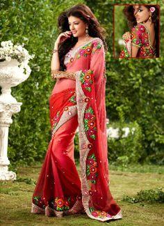 Christmas Saree Holiday Season Collection 2013-14  For Women (2)