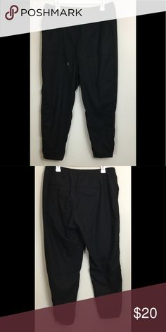 91d18d51b3fac Gap Solid Black Joggers Large New Without Tags New Without Tags. Tag has a  marker