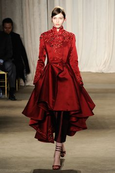 Marchesa – Runway – Fall 2013 Mercedes-Benz Fashion Week