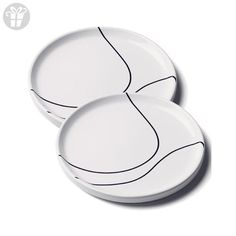 Contour Side Plate (Set of 2) (*Amazon Partner-Link)
