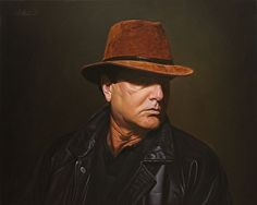 Incognito by artist Gary Hernandez. #oilpainting found on the FASO Daily Art Show -- http://dailyartshow.faso.com