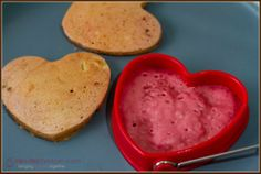 Pink Pancakes with Beet Puree