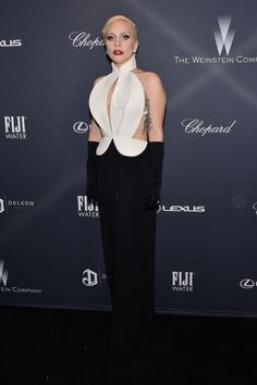 Lady Gaga in Brandon Maxwell - red carpet