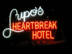 Lupos Heartbreak Hotel, a great music venue in downtown Providence   #VisitRhodeIsland