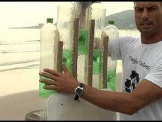 Florianópolis - Projeto ecológico utiliza garrafas pet para fazer pranchas de surf - YouTube