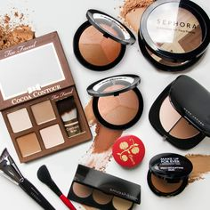 Best Contouring Makeup Great for contour beginners, powder formulas are easy to build for more coverage. Find your perfect match. Face Contouring, Contour Makeup, Contouring And Highlighting, Skin Makeup, Beauty Makeup, Hair Beauty, Natural Cosmetics, Makeup Cosmetics, Beauty Tutorials