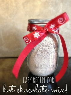I am so excited to share this recipe for hot chocolate mix. My mom has been making this for years. I have memories of playing in the snow and feeling really, really cold, only to walk in the door to piping hot, hot chocolate. This recipe is hot chocolate for a crowd. It makes a …