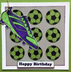 Football boot and ball from JGS477 by Jane Gill (scheduled via http://www.tailwindapp.com?utm_source=pinterest&utm_medium=twpin&utm_content=post114824001&utm_campaign=scheduler_attribution)