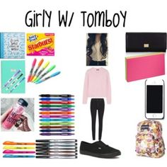 Back to school- Outfit #1 + Supplies