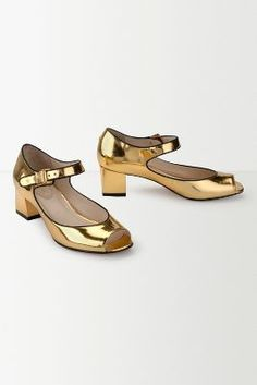Maggie Metallic Heels