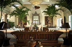 Tropical luxury awaits in the Bahamas Tropical Interior, Tropical Design, Tropical Style, Tropical Decor, Asian Interior, Tropical Colors, Modern Tropical, West Indies Decor, West Indies Style