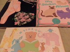 mis álbumes de stickers Sandylion