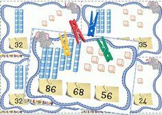 Décompositions des nombres de 0 à 100 - Dys é moi Zazoo Montessori Math, Homeschool Math, Teachers Corner, Math Numbers, Learning Through Play, Numeracy, Elementary Math, Math Classroom, Fun Math