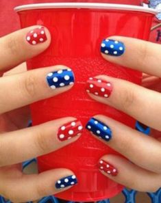 Fourth of July Nail Art 1890 montenr com