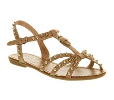 Office I'll Be There Nude Gold Pu - Sandals