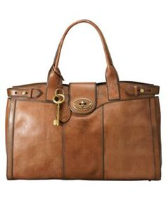Fossil Vintage Re-Issue Weekender. I am not a big fossil fan but I saw this at Macy's and I think I need :)- finally bought ; Fossil Handbags, Fossil Bags, Fossil Purses, Mode Hippie, Vintage Handbags, Vintage Bag, Vintage Leather, Beautiful Bags, My Bags