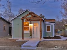 "This is a 546 sq. ft. Fort Collins Cottage that's for sale! Check out this ""tiny"" but extraordinary home! Right in the heart of old town Ft Collins! Within walking distance of res…"