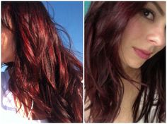 Thinking about dying my hair dark red again