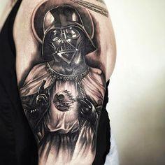 star wars darth vader tattoo-3