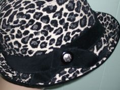 Great Leopard Cloche by thehatpeddler on Etsy, $65.00